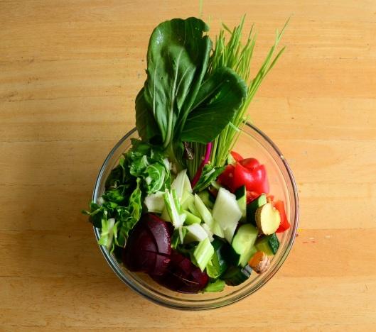 Organic Veggie Splendor