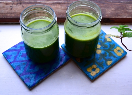 orange is green juice