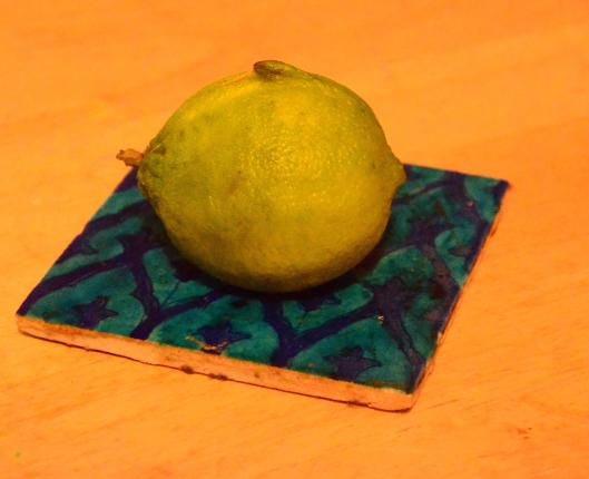 It's an Organic Lime Fish!