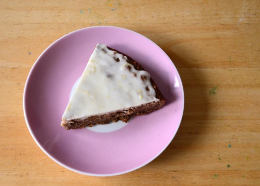 Almond cake!